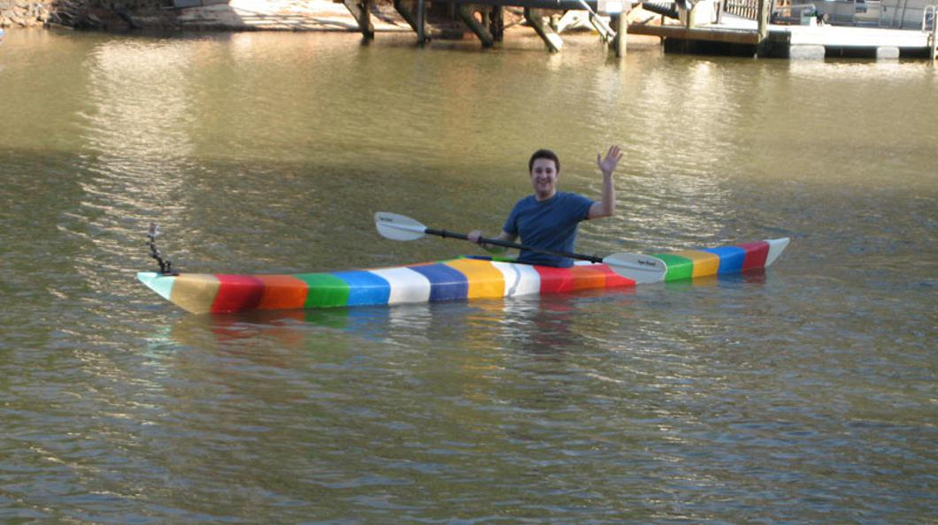The world's first 3D printed kayak is coming to @CLTMakerFaire this Saturday: http://t.co/FNet6CsuD1 #3dprinting http://t.co/rkmwHvteIx