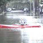 Watch: South Carolina residents kayak through flooded streets http://t.co/ZfVbTozl1m http://t.co/GcsTReDyUC