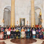 A youth delegation from Bangladesh called #PresidentMukherjee today at Rashtrapati Bhavan http://t.co/xEGUUoEvF6