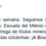 """Les compartimos los tuits de nuestro Presidente @MashiRafael, """"¡A Ecuador nadie lo para!"""" http://t.co/IXpXGUpYHt"""
