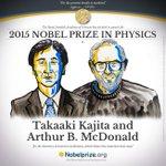 rt fedorkiw: https://t.co/kWUPNo8Ka7 RT NobelPrize: BREAKING NEWS The 2015 #NobelPrize in Physics to Takaaki Kaji… http://t.co/8CCSCkvgRM