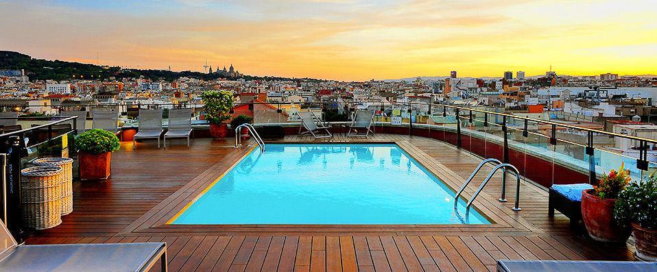 Hôtel Le Plus Beau Du Centre De Barcelone Avec - Hotel barcelone avec piscine sur le toit