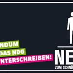 Unterstütze das Referendum der @gruenech gegen den #Schnüffelstaat (#NDG). Unterschreibe & RT http://t.co/YahAW4k6RA http://t.co/oEHPgqjAdH