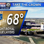 Lets get this party started #KC!!! Free to the public Take The Crown Rally today at the #K. More @kmbc on the fun!! http://t.co/ZrtvuskCkt