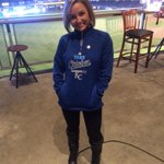 LOVE this pull over for @Royals #TakeOctober perfect weather this AM for a pull over @41ActionNews LIVE at The K http://t.co/GzyerNOsP8