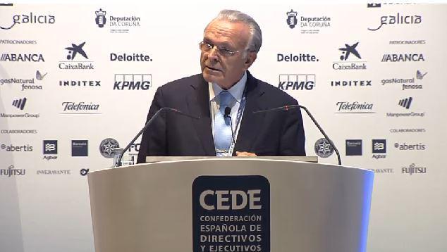 """Isidro Fainé (@infoCaixa) Dirigir es educar, dar ejemplo y hacer que los demás crezcan a nuestro lado"""" #CongresoCEDE http://t.co/XvHSvXONrk"""