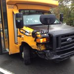 School bus & car crash on Prospect Rd. No injuries. @globalhalifax http://t.co/gP7rDeQd2S