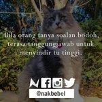 Pernah rasa? #nakbebel http://t.co/kShJrutjLi