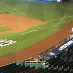 The K decorated for the postseason. No need for that Wildcard logo this year #Royals http://t.co/ySoZxa3iD1