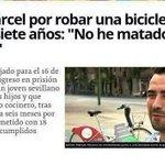 En España si tienes el dinero negro en paraísos fiscales como Rato no pasa nada, si robas una bici vas a la cárcel. http://t.co/r0tXYripnp