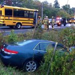 Crash involving school bus shuts down Prospect Road http://t.co/2DTAxdZep3 http://t.co/0IUWM7TJYr