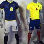 #LaTricolor | Nuestra piel para el rumbo al Mundial Rusia 2018. La indumentaria de ECUADOR que estrenará v Arg. http://t.co/PBPmz6BxNq