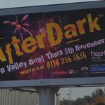 Thanks @ancoDigital for the fab #afterdarkfireworks sign this morning! Less than a month to go! #sheffieldissuper http://t.co/Qax1vlDMxn