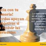 La memoria es tan frágil que puede ser modificada para nuestra conveniencia. #coaching #Quito http://t.co/h5gkiEig8u