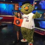 Its game day and Im on @KHOU with @KHOULily and the rest of the morning news team! #Astros http://t.co/sx13Ppat0W