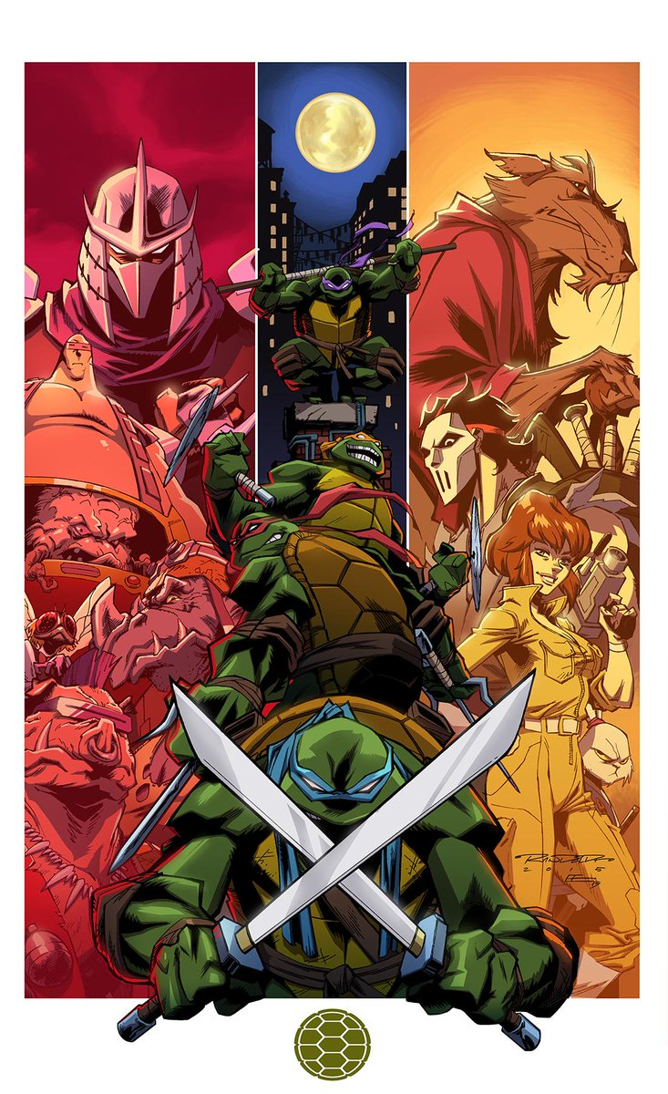 TMNT '87 by me & @EMannLand. This'll be a print at #NYCC. http://t.co/GEcRDTlRt7