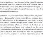 Jean Jaurès réagit aux violences qui ont émaillé le Comité dEntreprise chez Air France (le texte est dépoque) http://t.co/avbP5vLLE9