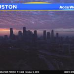 Gorgeous sunrise warning, #Houston! Send us your pics! #abc13eyewitness http://t.co/o7l9yvEjFT