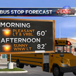 Bus stop forecast - nice this AM, warm this PM. #cawx #yourcentralvalley http://t.co/dD9hrdt5Lu