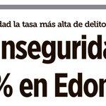 #EDOMEX en crisis de inseguridad. Qué raro. Apenas hace unos días @eruviel_avila presumía lo contrario. @REFORMACOM http://t.co/SMOvCGSUvh
