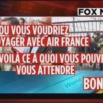 Après la chemise arrachée, @FoxNews décrète que les avions #AirFrance sont des no go zones ! #LPJ http://t.co/BbNOfciRXe