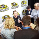 .@KevinHarvick attending #TheChase Contender Round Media Day @NASCARHall. #NASCAR http://t.co/nqjqD1yAgC