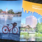 #Mississauga #VitalSigns2015 booklet fr @CFofMississauga has #PortCredit images incl our harbour bike! Good info too! http://t.co/6oMJafaHhm