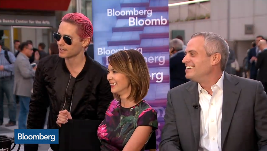 RT @BloombergTV: .@JaredLeto crashed our interview w/ @SlackHQ CEO @stewart to tell us his best investment! http://t.co/yni0WjLuQz http://t…