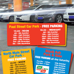 Cork City Council is delighted to announce details of our Free Parking Promotion running for the next six weeks. http://t.co/UZHtsmFzbk
