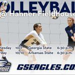 Volleyball Preview: Georgia Southern Hosts Georgia State and Arkansas State http://t.co/un1hVtVgU9 http://t.co/XRuO7vehgI