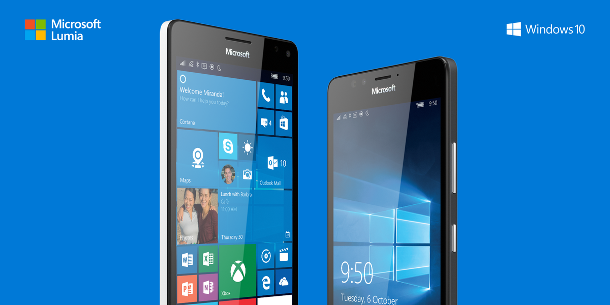 The phones that work like your PC. Say hello to the #Lumia950 and #Lumia950XL. http://t.co/TPMUvSHIEQ
