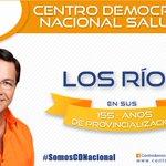 Con un fraterno abrazo saludamos a la provincia de Los Ríos y a toda nuestra militancia @cd_losrios en sus fiestas http://t.co/5PN6wsjPuv