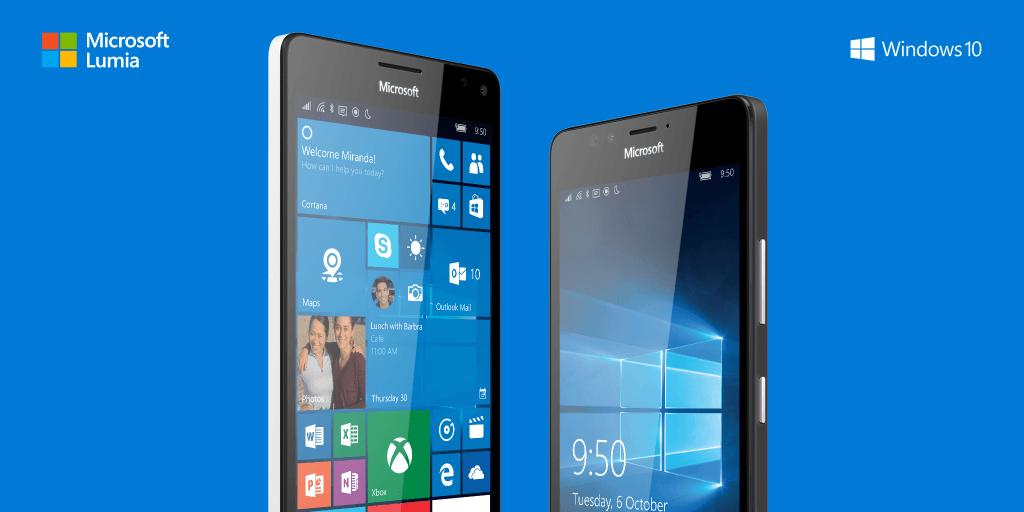 Introducing the Microsoft Lumia 950 and 950XL http://t.co/IHPIgWpYNx http://t.co/ytkQzGVtxv