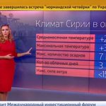 Russian TV forecasts good weather for bombings in Syria http://t.co/XJEJKHrrog http://t.co/f4C3iBXxT5