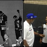 It was a huge pleasure and privilege to have the opportunity to meet and chat with #JohnCarlos, a living legend. ✊✊ http://t.co/VccJ8VCJa4