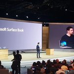 Microsoft Surface Book is a laptop version of the Surface tablet. Typing experience closer to MacBook. http://t.co/kITlqFPbac