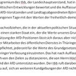 Wichtiges Signal des #tbb: Appell an MitarbeiterInnen des ÖD, sich v. AfD-Positionen zu distanzieren @spdthl @mdrde http://t.co/GpoU4IO4k6