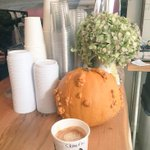 @bwekafe So excited to see that the gourds are back. #flatwhite & #sideofgourd #Hoboken http://t.co/qciXmSSfS6