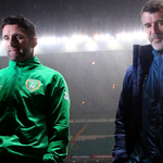 VIDEO: Roy Keane says new dad Robbie Keane will play unless hes breastfeeding. http://t.co/enbw6nzY1z http://t.co/wT5CUEWNlD
