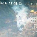 ATENCIÓN: Conato de incendio forestal en el sector de El Panecillo. Asite @BomberosQuito. #EmergenciaCBQ http://t.co/uqKdXJN976