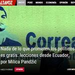 Lecciones que nos deja #Ecuador (y #Correa). Mi columna en @DiarioAltavoz: http://t.co/lmyMOw02q1 http://t.co/EtcU8rovop