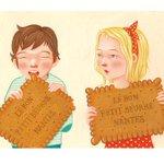 """#Artwork #illustration """"Le Petit Beurre"""" de lartiste Lelapain (Karine Pain, #Nantes) http://t.co/fBWVj1ICRg #LU http://t.co/4gq9szABcR"""