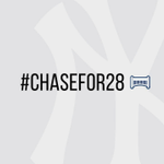 Use #Chasefor28 and a special emoji will appear throughout our postseason run. http://t.co/enZUyFYDPu