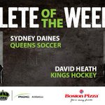 Congrats to our Athletes of the Week: @rdcqueenssoc player, @DainesSydney and @rdckingshockey player, David Heath! http://t.co/yhTtGjc6rK