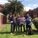 #Quilmes Llevando a cada casa de Barrio Parque Bernal nuestras propuestas. http://t.co/ngJW3ogqCE