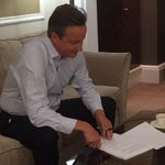 Trying to write them fire bars yeh? RT @David_Cameron: Ive been working on my conference speech. http://t.co/RxPfvDRMLj