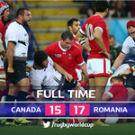 Its the biggest comeback in #RWC history! #ROM beat #CAN after trailing 15-0 in the second-half ???????? ???? #CANvROM http://t.co/rUpYNyeE4J