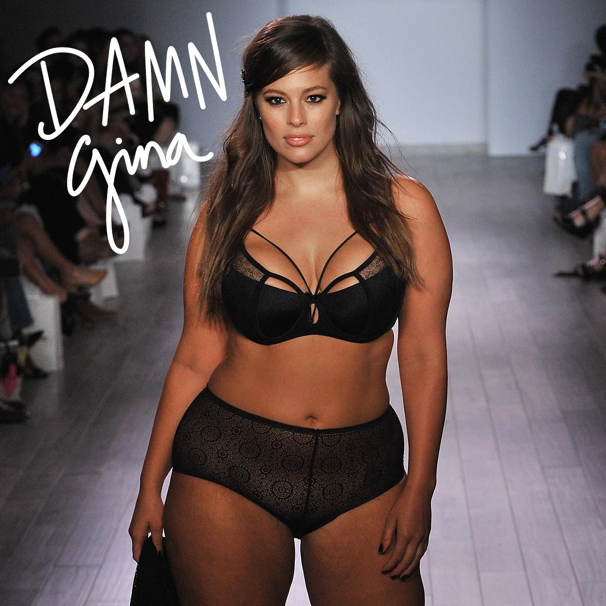 DAAAAAAMN Gina! I'm obsessed with model Ashely Graham's curves!! http://t.co/4JWmdy7q43 http://t.co/YGPo8EwbeG
