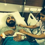 RT @CricketNDTV: Navjot Singh Sidhu is 'Down but not out' after being hospitalised. http://t.co/IYQFBSVOp4