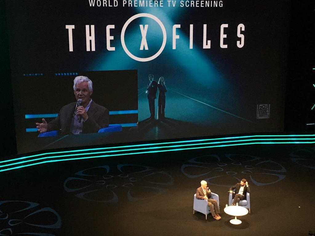 "Liveblog: Chris Carter talks new X Files: ""Believe it or not, I'm a sceptic"" http://t.co/Nu0pzGI6ga http://t.co/dhXc4B5yCN"
